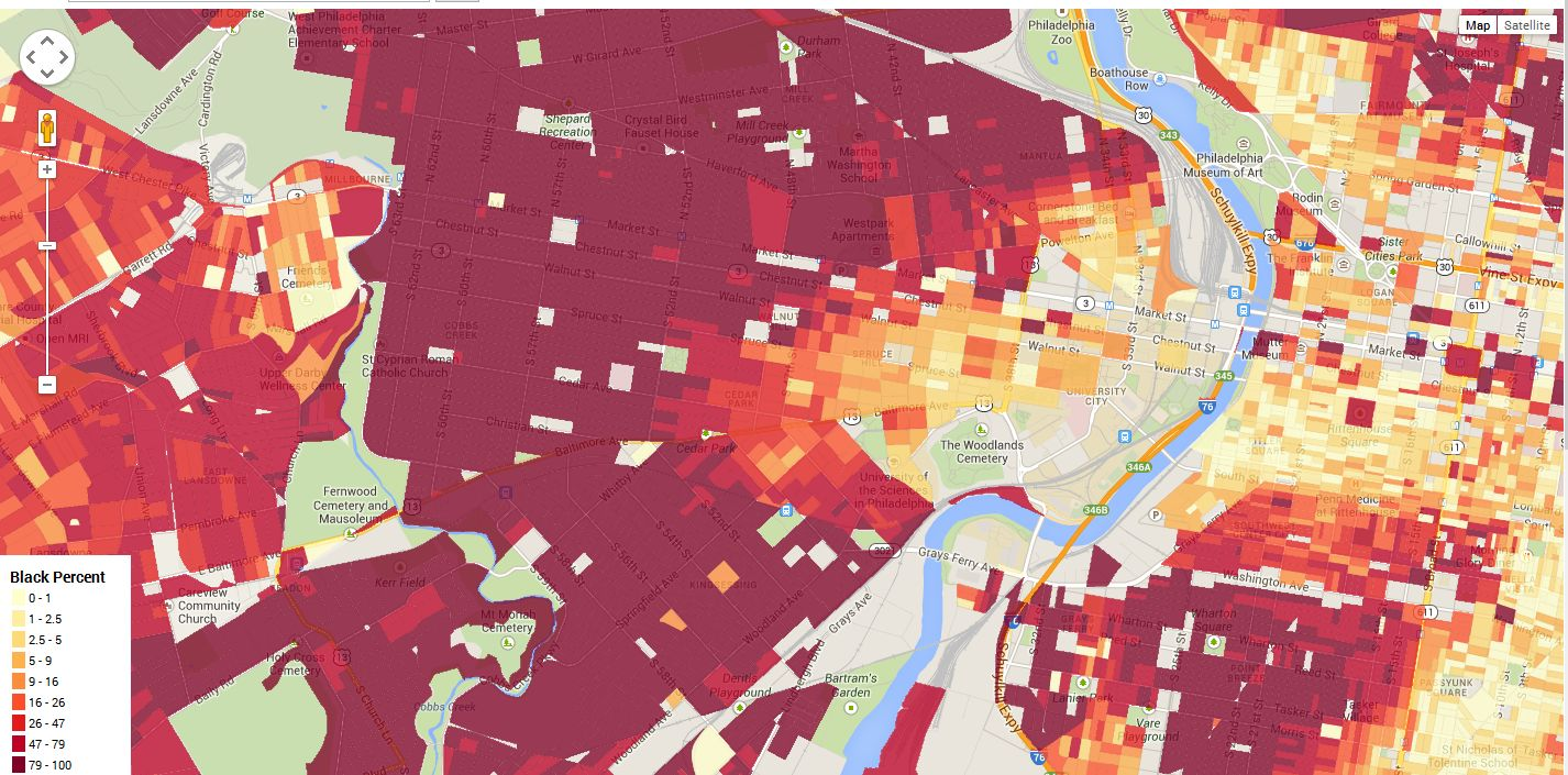 Census Map Income a Map of Household Income in